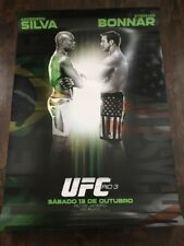 UFC Rio 3 Poster - Anderson Silva vs. Stefan Bonnar - Limited Edition