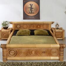 Bambusbett 180x200 Rizal Bambus Bett Doppelbett Holzbett Bettgestell Wasserbett