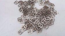 10 X SINGOLO Fibbia in Metallo ad Ardiglione Scarpa BKL/Saddler cintura in pelle artigianale Cinturino 12 mm