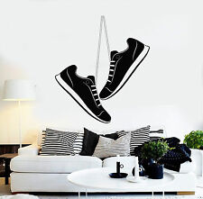 Vinyl Wall Decal Sports Shoes Teen Room Kids Stickers Mural (ig4340)