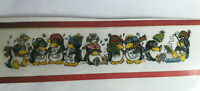 """""""Christmas Penguins"""" Counted Cross Stitch Kit NEW  Approx 4"""" × 22"""" Design Works"""