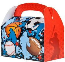 24 SPORTS TREAT BOXES BASKETBALL FOOTBALL SOCCER BASEBALL GOODY TREAT PRIZE BAGS