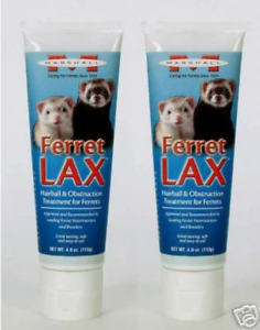 Marshall Lax Hairball Remedy Treatment for Ferrets Tube 3 oz. 2-Pack