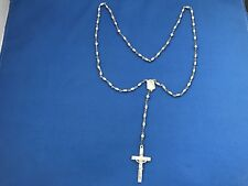 Vintage Sterling Silver Creed Rosary
