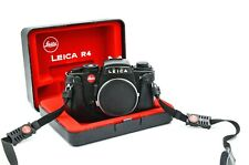 Leica R4 SLR Camera Body w/ Box, Half Case, Strap