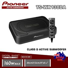 "Pioneer TS-WX130DA 8"" Underseat Sealed Active Subwoofer & Bass Controller 160W"
