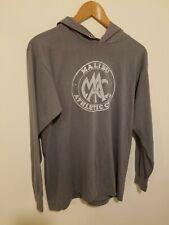 Vintage 1980s Malibu Athletic Club Hooded Longsleeve Shirt Single Stitch