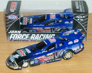 2011 John Force Castrol GTX Honoring Our Heroes NHRA Funny Car 1:64 Scale
