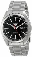 Seiko 5 SNKL45 Automatic Day-Date Black Dial Stainless Steel Mens Watch SNKL45K1