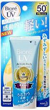KAO Biore UV Aqua Rich Watery Essence Sunscreen SPF50+ PA++++ 50g from Japan New
