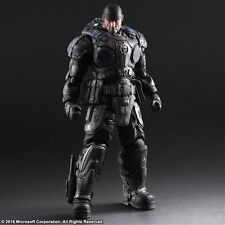 Play Arts Kai Gears of War Marcus Fenix Figure NEW AUTHENTIC - Square Enix