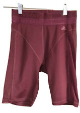 """Nwt� adidas x Ivy Park Maroon Bicycle Shorts (Size: Xs)"