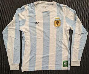 Adidas Originals Argentina 86 Maradona Retro Shirt - Rare