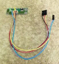 PB-0002-REV A PACKARDBELL POWER BUTTON BOARD WITH LED INDICATOR LIGHT CABLE