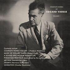 THE COMPLETE WORKS OF EDGARD VARÈSE VOL.1 (3CD) - VARÈSE,EDGARD  3 CD NEW!