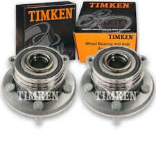 Timken Front Wheel Bearing & Hub Assembly for 2011-2017 Jeep Grand Cherokee kt