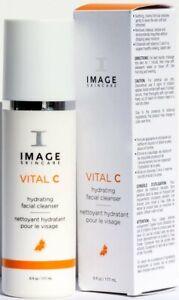 Image Skincare Vital C Hydrating Facial Cleanser 6 oz / 177 ML SEAL EXP 4/2022