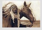 Внешний вид - Blackfoot Chief War Bonnet PHOTO Indian Native American Blackfeet 1926