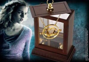 Réplique Retourneur De Temps Pendentif + Vitrine D'exposition - Harry Potter
