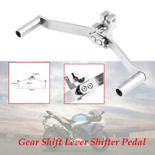 1PCS Motorcycle welding 6063 all-aluminum double-headed Dual Gear Shift Lever