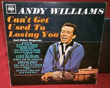 ANDY WILLIAMS CAN'T GET USED TO LOSING YOU AND OTHER REQUESTS BPG 62146 1963 CBS