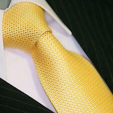 Viga reticulada de Luxe corbata tie slips corbata cravatte Dassen corbatas 543 oro