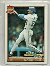 1991 Topps Ken Griffey Jr Seattle Mariners #790 Baseball Card