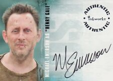 "Lost Season 2 Michael Emerson as ""Henry Gale"" A17 Auto Card"
