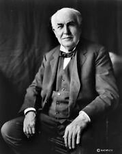 New 8x10 Photo: Renown American Inventor & Businessman Thomas Alva Edison - 1922