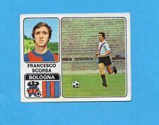 FIGURINA PANINI 1972/73-n.44- SCORSA - BOLOGNA -Recuperato