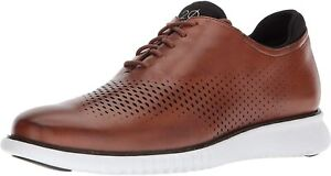 Cole Haan 2.Zerogrand Lined Laser Oxford - British Tan/Ivory, Size 12W [C27879]