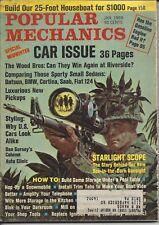 Popular Mechanics - January 1969 Car Issue Datsun BMW Saab Fiat Cortina
