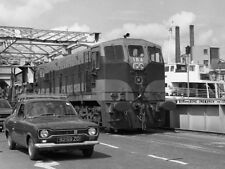 PHOTO  1975 CORK CITY RAILWAY 1975 6 184 MAKES ITS SECOND CROSSING OF THE RIVER