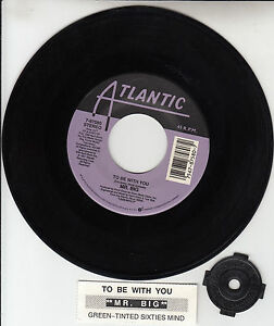 """MR. BIG  To Be With You 7"""" 45 rpm vinyl + juke box title strip BRAND NEW RARE!"""