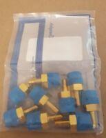 SWAGELOK B-4-TA-1-6  Male Tube Adapter, 1/4 in. Tube OD x 3/8 in. Male NPT