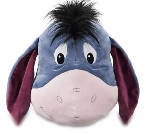 DISNEY Winnie the Pooh Eeyore Big Face Cushion **NEW**