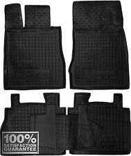 Rubber Carmats for Mercedes S W220 Short base 1998-2005 All Weather Floor Mats