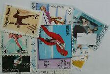 Ice Skating + Dancing 25 Stamps (651)