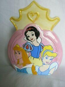 DISNEY Original Princess Coin Bank Snow White - Cinderella - Sleeping Beauty