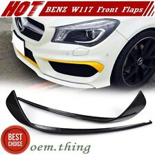 Unpainted For Mercedes benz CLA W117 4D Front Corners Flaps CLA45 CLA250 2016