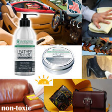 Leather Conditioner Cleaner Treatment Care Restoration Car Auto Seats Shoe Sofa