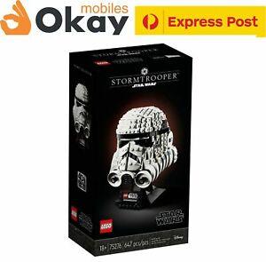 **BRAND NEW** LEGO STAR WARS -  Stormtrooper Helmet -  75276 - AU - IN STOCK NOW