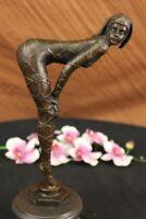 ~ D.H.Chiparus~ bronze art deco statue Egyptian Dancer Sculpture Marble Figurine