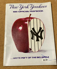 1981 New York Yankees Yearbook