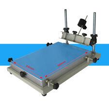 S size 300x240mm Manual Smt Stencil Printer Solder Paste Printing Machine top