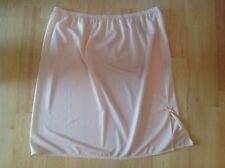 "Half slip petticoat underskirt CREAM FANCY HEM  8 10 12 14 16 18 20 18"" BNWTT"