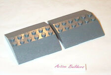 Lego Train Roofs 6 x 6 Double 33 Degree Slope 10183 Dark Stone Gray