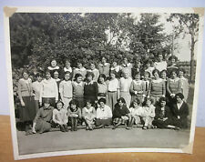 Vintage Girls' School Photo circa 1924