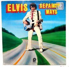 SEALED ELVIS PRESLEY: Seprate Ways LP RCA RECORDS CAS2611 US 1972