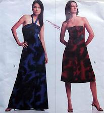 * 2740 Vogue MICHAEL KORS Misses Strapless Dress Pattern sz 8-12 2003  UNCUT